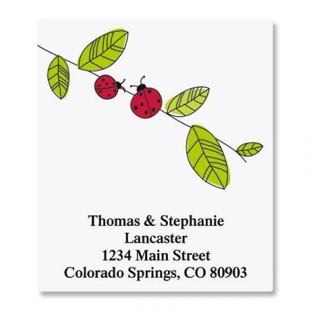 Ladybugs Select Return Address Labels