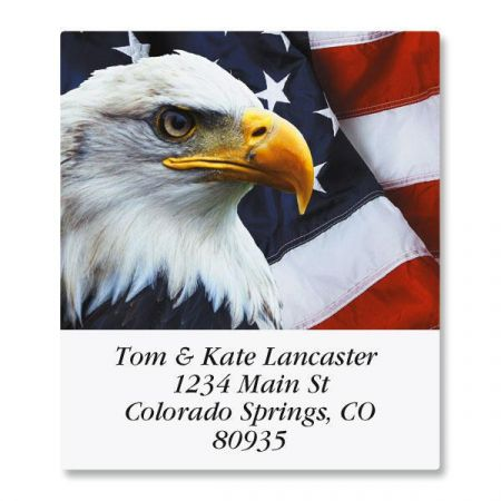Bald Eagle Select Return Address Labels