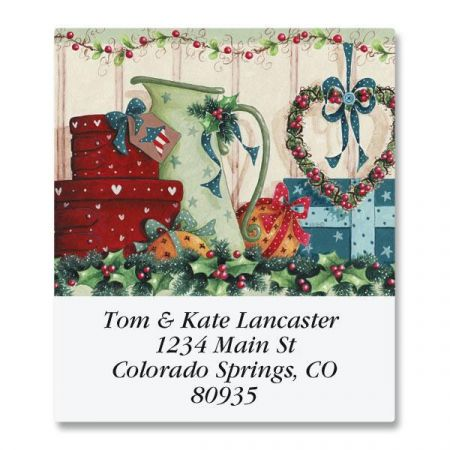 Country Cheer Select Return Address Labels
