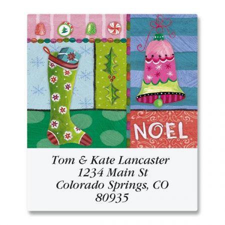 Sweet Noel Select Return Address Labels