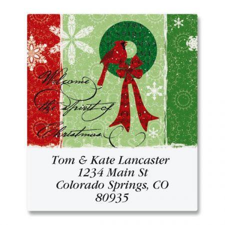 Christmas Spirit Select Return Address Labels