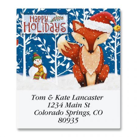 Frosty Fox Select Address Labels