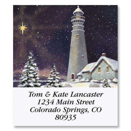 December Light Select Address Labels