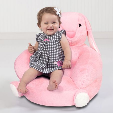 Plush Bunny Children's Character Chair