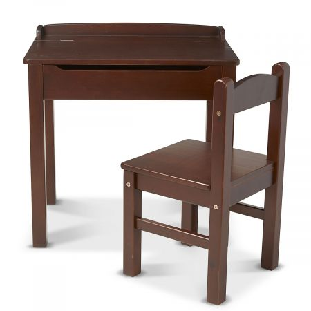 Wooden Lift-Top Desk & Custom Chair by Melissa & Doug®
