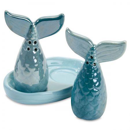 Mermaid Tails Salt & Pepper Shakers