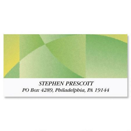 Patterned Shades Deluxe Address Labels  (6 Designs)