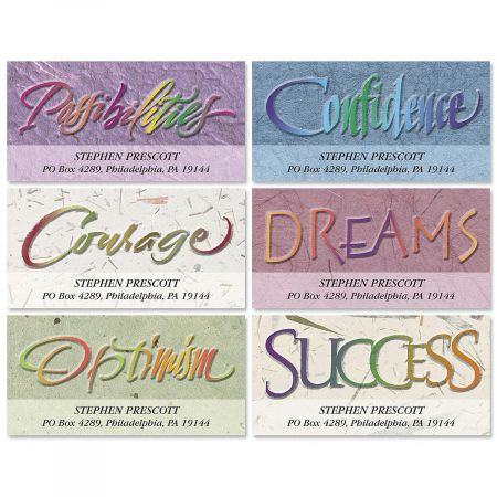 Attitudes Deluxe Return Address Labels  (6 Designs)