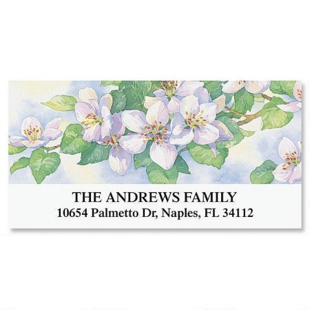 Gardens Year-Round Deluxe Return Address Labels  (12 Designs)