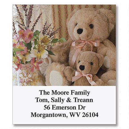 Teddy Bear Magic Select Return Address Labels  (12 Designs)