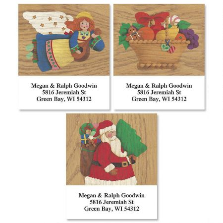 Angel Country Select Return Address Labels  (3 Designs)
