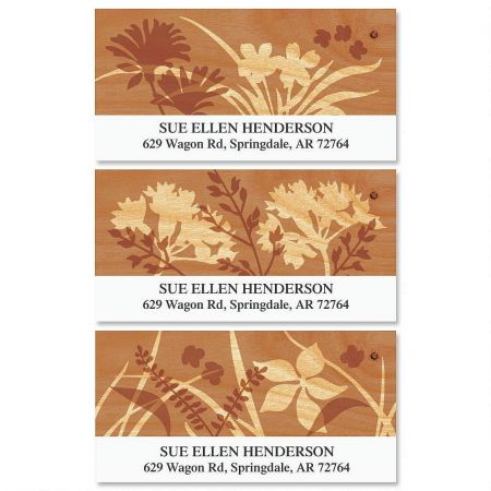 Silhouette  Deluxe Return Address Labels   (3 Designs)