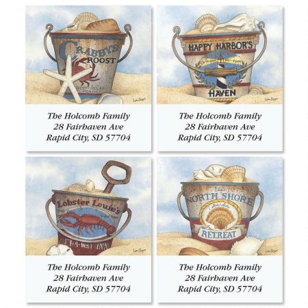 Harbor Collection Select Address Labels  (4 Designs)
