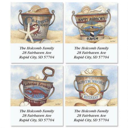 Harbor Collection Select Return Address Labels  (4 Designs)
