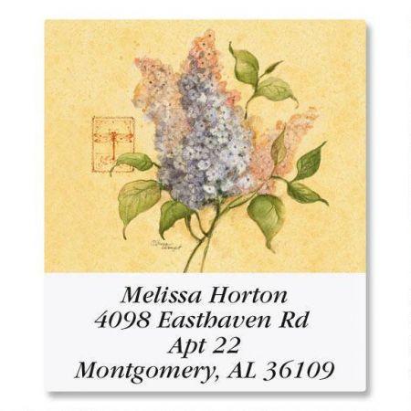 Floral Grace Select Return Address Labels  (8 Designs)