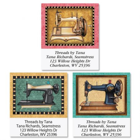 Love of Sewing Select Return Address Labels  (3 Designs)