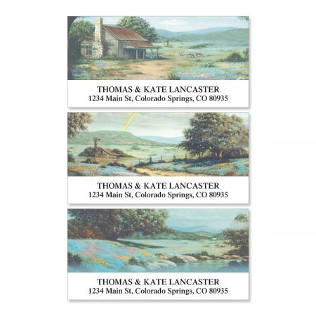 Serenity II Deluxe Return Address Labels  (3 Designs)