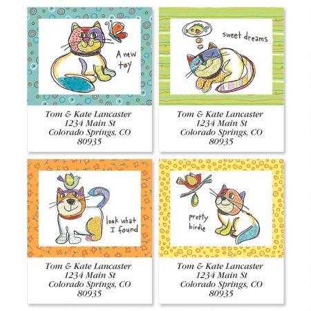 Pretty Birdie Select Return Address Labels  (4 Designs)