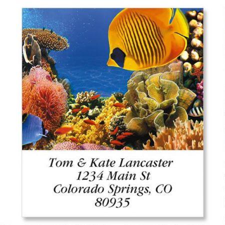 Undersea Select Return Address Labels  (12 Designs)