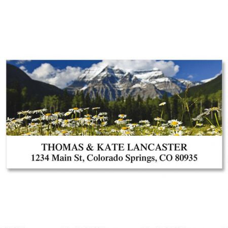 Wildflower Escape Deluxe Return Address Labels  (12 Designs)