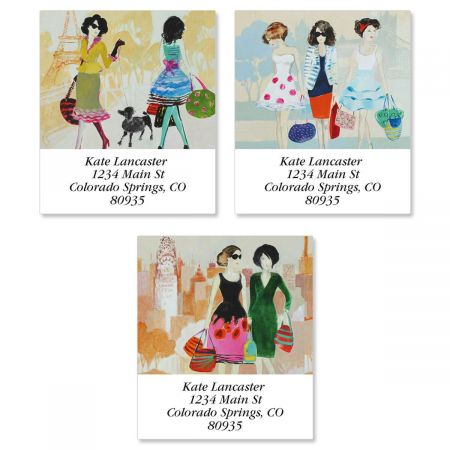 Ladies Select Return Address Labels  (3 Designs)