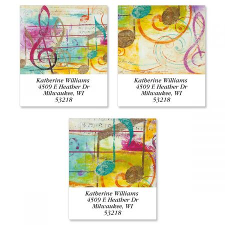 Take Note Select Address Labels  (3 Designs)