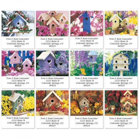 Fly Away Home Select Address Labels  (12 Designs)
