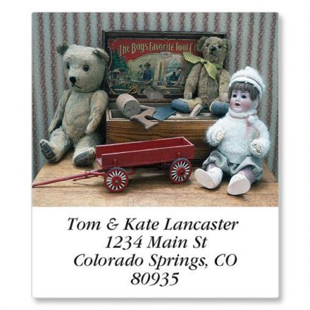Antique Dolls  Select Address Labels  (12 Designs)