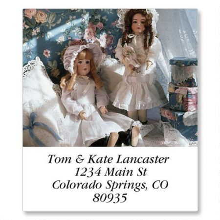 Playing with Dolls Select Return Address Labels  (12 Designs)