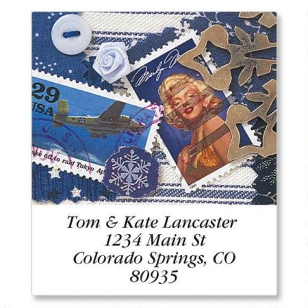 Sharing Memories Select Address Labels  (12 Designs)