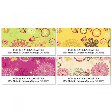 My Life  Deluxe Return Address Labels   (4 Designs)