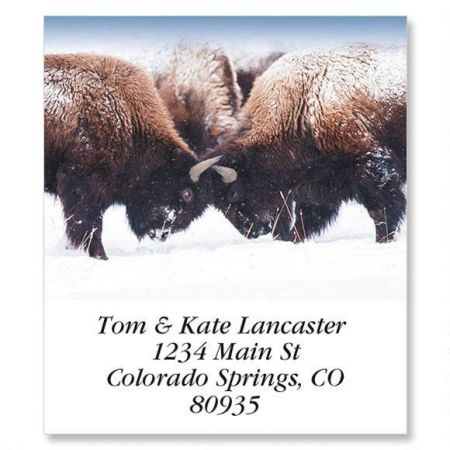 North American Wildlife Select Address Labels  (12 Designs)