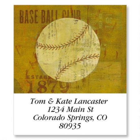 Sports Balls Select Address Labels  (8 Designs)