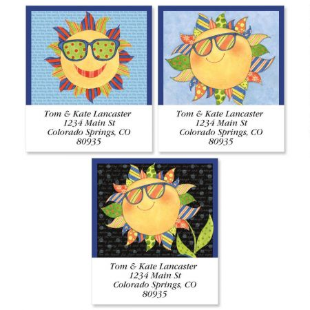 Sunshine Select Return Address Labels  (3 Designs)