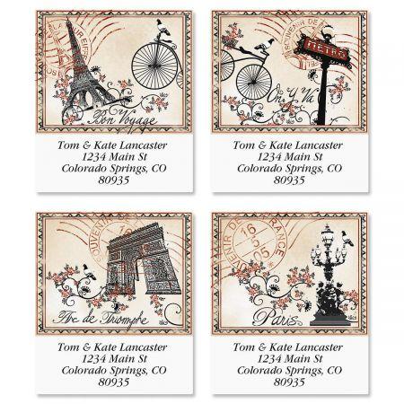 Tour de France Select Return Address Labels  (4 Designs)