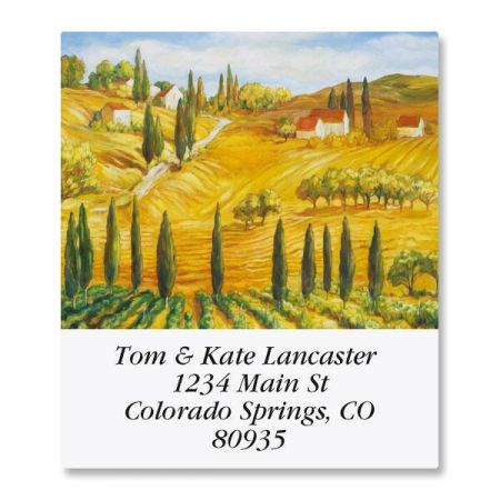 Tuscany Select Address Labels  (6 Designs)