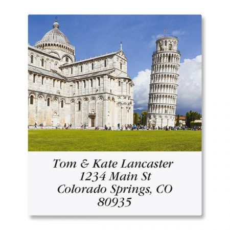 Trip to Italy Select Return Address Labels  (12 Designs)