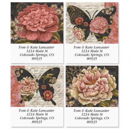 Marabelle Select Return Address Labels  (4 Designs)