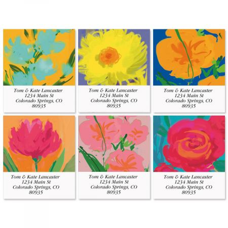 Loosen Up Select Return Address Labels  (6 Designs)
