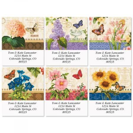 Grande Fleur Select Return Address Labels  (6 Designs)