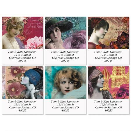 Face of Finchley Select Return Address Labels  (6 Designs)
