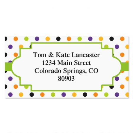 Enchanted Border Address Labels  (4 Designs)