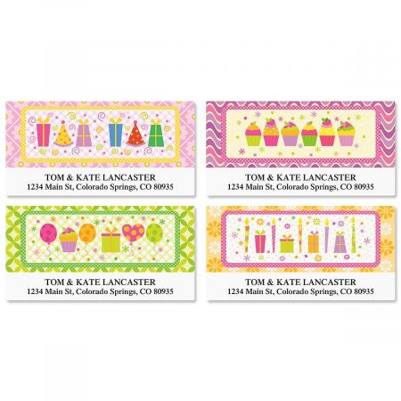 Delightful Day Deluxe Address Labels  (4 Designs)