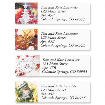 Traditions Classic Return Address Labels  (4 Designs)