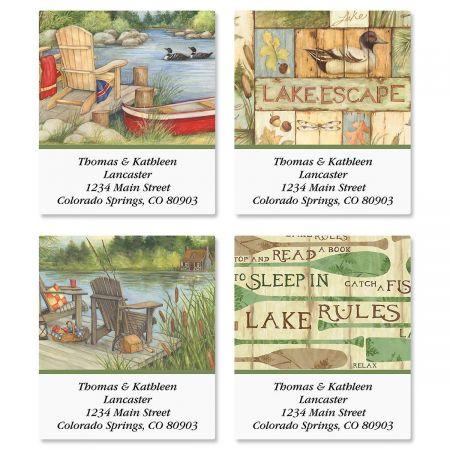 Lakeside Select Return Address Labels  (4 Designs)