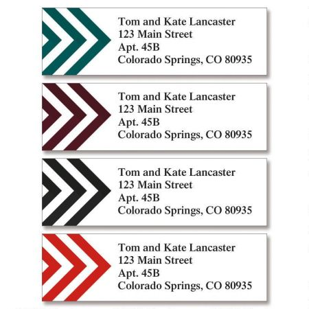 Good Point Classic Return Address Labels (4 Designs)