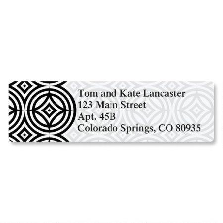 Modern Patterns Classic Address Labels  (6 Designs)