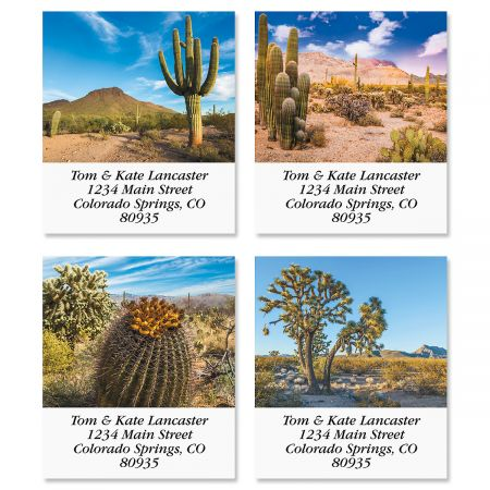 In The Desert Select Address Labels (4 Designs)