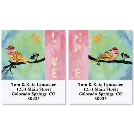Love Bird Select Return Address Labels (2 Designs)