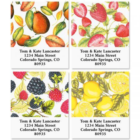 Tasty Fruit Select Return Address Labels (4 Designs)